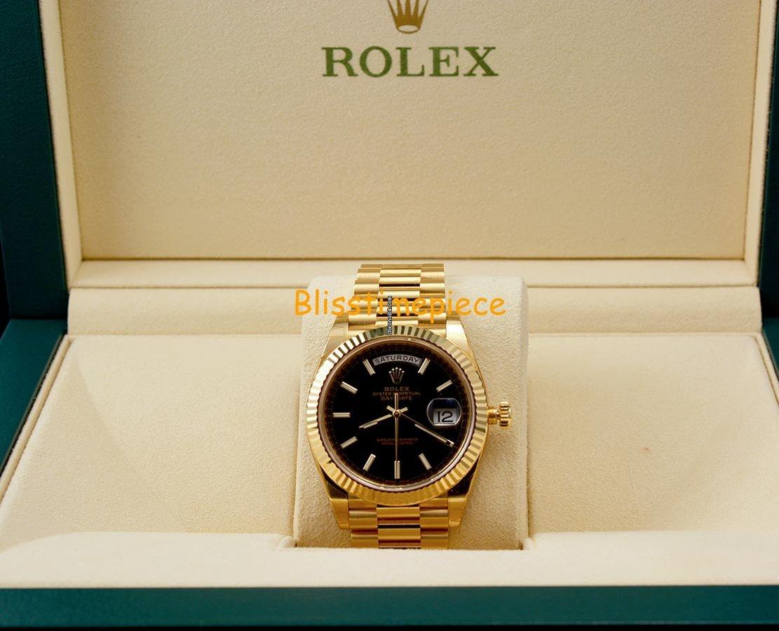 Rolex Day Date Black Gold