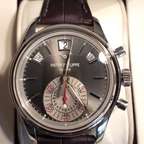 Patek Philippe Annual Calendar Chronograph occasion 40,5mm Platine