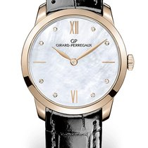 Girard Perregaux 1966 Rose gold 30mm Mother of pearl No numerals