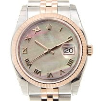 勞力士 (Rolex) Datejust 18k Rose Gold And Steel Black Automatic...