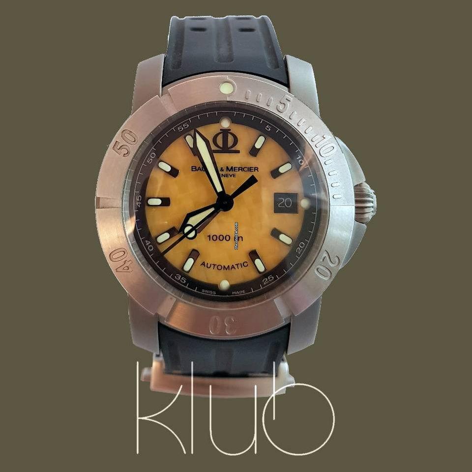82f1adba4eb Comprar relógios Baume   Mercier Titânio
