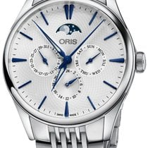 Oris Artelier Complication Steel 40.5mm Silver United States of America, New York, Airmont