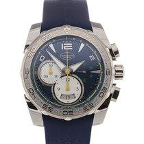 Parmigiani Fleurier Pershing 45 Chronograph Blue Dial