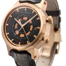 Villemont Red gold Automatic 1001.000 new