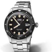 Oris Divers Sixty Five 01 733 7720 4054-07 8 21 18 Oris DIVING SIXTY-FIVE Acciaio new