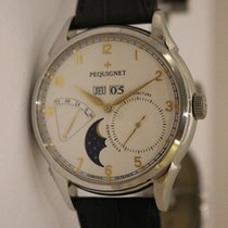 Pequignet 44mm Automatic 2018 pre-owned White