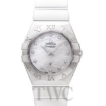 Omega Constellation Quartz 123.10.27.60.55.003 nuevo