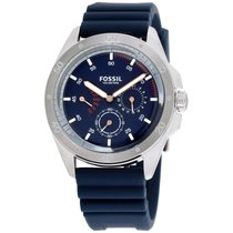 Fossil Sport 54 Blue Dial Silicone Strap Men's Watch Ch3062