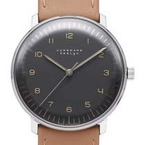Junghans max bill Automatic 027/3401.00 JUNGHANS MAX BILL AUTOMATIC antracite marrone new