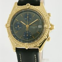 Breitling Chronomat Yellow gold 39mm Blue