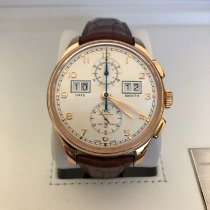 IWC Portuguese Perpetual Calendar Digital Date-Month Red gold 45mm