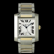 Cartier Tank Française pre-owned 31mm Gold/Steel