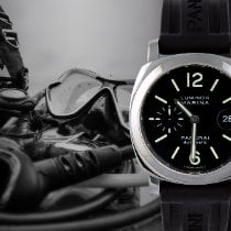 Panerai Luminor Marina Automatic occasion 44mm Noir Date Cuir