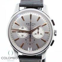 Zenith Captain Chronograph Acero 42mm Plata Sin cifras España, Granollers, colomboswatches.com