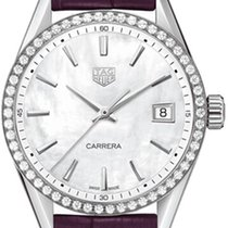 TAG Heuer Carrera Lady Steel 36mm Mother of pearl United States of America, New York, Airmont