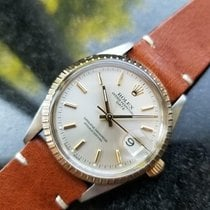 Rolex Oyster Perpetual Date Gold/Steel 34mm Champagne