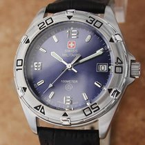 Swiss Military Steel 38mm Quartz pre-owned