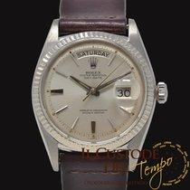 Rolex Day-Date 36 Oro bianco 36mm Argento Senza numeri Italia, Terni