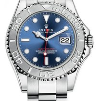 Rolex Yacht-Master 40 Steel 40mm Blue No numerals United States of America, New Jersey, Edgewater