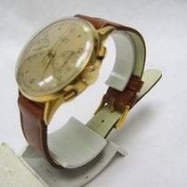 Fludo Gelbgold 33mm Chronograph gebraucht