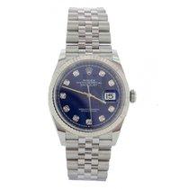 Rolex Datejust nuevo Automático Cronógrafo Reloj con estuche y documentos originales 126234