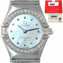 Omega Constellation Ladies pre-owned 25.5mm Mother of pearl Steel