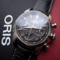 Oris Artelier Chronograph Steel 44mm Black