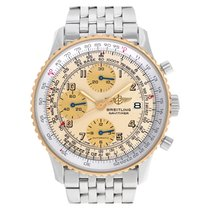 Breitling Old Navitimer Steel 41mm Champagne Arabic numerals United States of America, Florida, Surfside