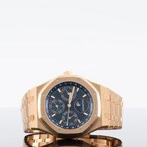 Audemars Piguet Royal Oak Perpetual Calendar Rose gold Blue