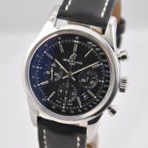Breitling Transocean Chronograph Steel 43mm Black No numerals United States of America, Ohio, Mason