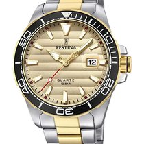 Festina Steel 44mm Quartz F20362/1 new