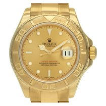 Rolex Yacht-Master 40 pre-owned 40mm Champagne Date Yellow gold