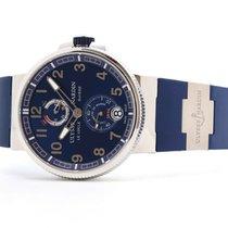 Ulysse Nardin Marine Chronometer Manufacture Steel 43mm Blue No numerals United Kingdom, Oxford