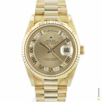 Rolex 18238 Or jaune 1991 Day-Date 36 36mm occasion