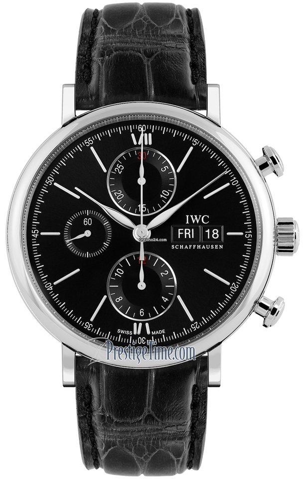 IWC Portofino Chronograph IW391029 2021 новые
