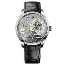 Greubel Forsey White gold 39.6mm Manual winding P180 new