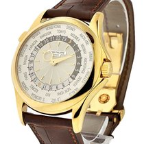 Patek Philippe 5130J-001 Ref 5130J-001 World Time in Yellow...