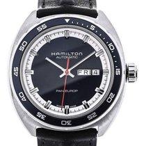 Hamilton Pan Europ 42 Automatic Blue Dial