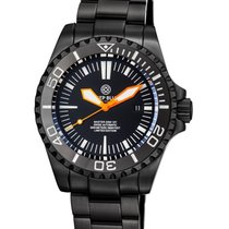 Deep Blue Steel 46mm Automatic new