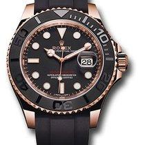 롤렉스 (Rolex) Yacht Master 40mm Rose Gold Cautciu - 116655