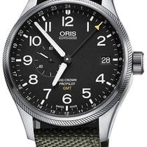 Oris Big Crown ProPilot GMT Steel 45mm Black United States of America, New York, Airmont