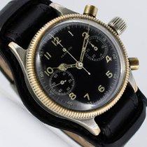 Tutima UROFA 59 Wehrmacht Chronograph II WW Pilot German Military