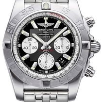 Breitling New Chronomat Watch Ab011011/b967/375a Chronograph...