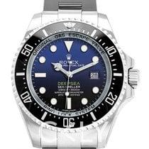 勞力士 Deep Sea Black-blue/Steel Ø44 mm - 116660