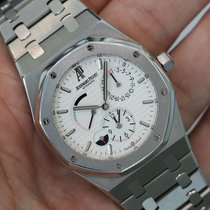 Audemars Piguet Royal Oak Dual Time Power Reserve Silver...