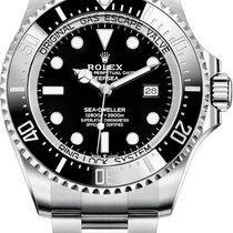 Rolex Deepsea Sea-Dweller Black Dial Stainless Steel 126660