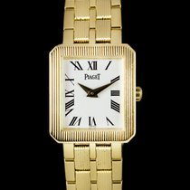 Piaget Protocole Geelgoud 19.5mm Wit Romeins