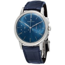 Zenith Elite Chronograph Classic Steel 42mm Blue United States of America, New York, New York