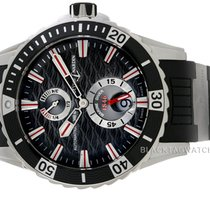 Ulysse Nardin Diver Chronometer Steel 44mm Black No numerals United States of America, Florida, Aventura