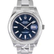 劳力士  Datejust II Blue Dial Oyster Bracelet - 116334
